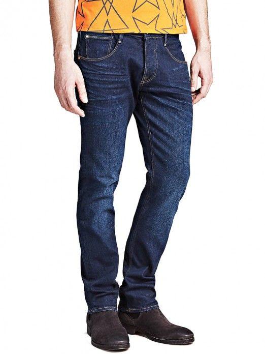 9f8d831bbd Vaqueros Hombre Jeans Oscuros Guess M91AS3D3HW0