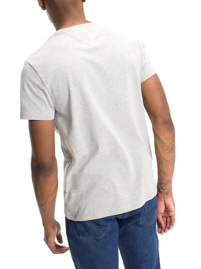 T-Shirt Men Grey Tommy DM0DM04151