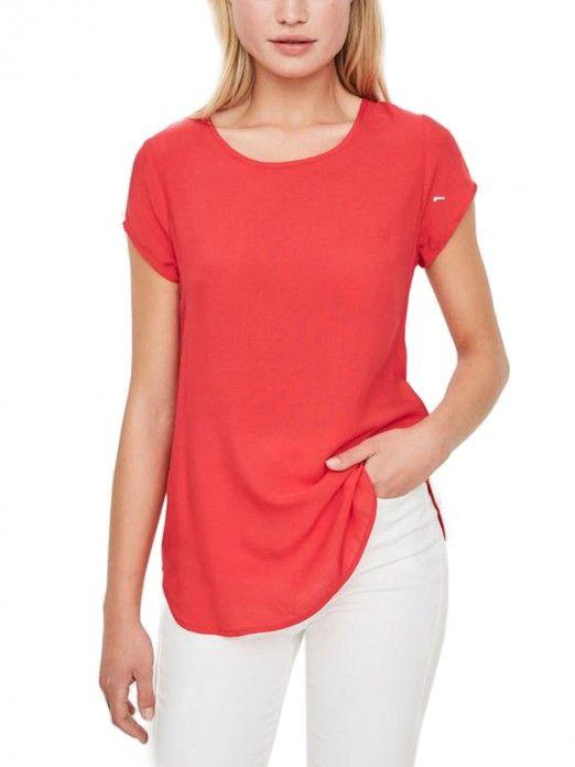 Shirt Woman Red Vero Moda