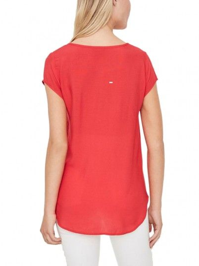 Top Women Red Vero moda 10104030