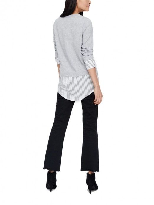 Knitwear Woman Grey Vero Moda