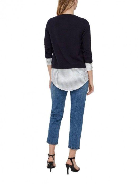 Sweat Mujer Azul Marino Vero moda 10209496