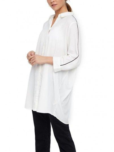 Túnica Mujer Blanco Vero moda 10210373