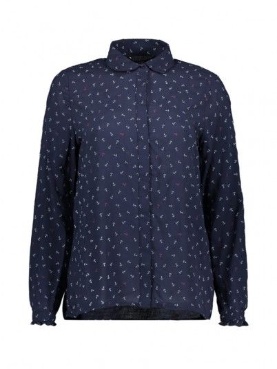 Shirts Women Dark Blue Vero moda 10210412