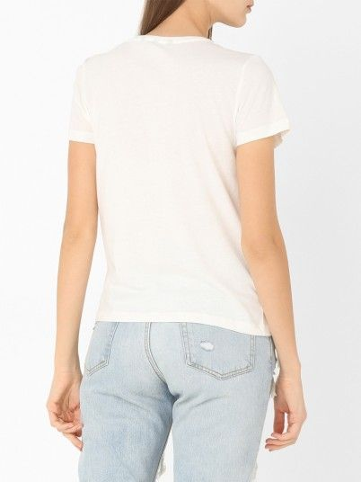 T-Shirt Women White Vero moda 10210574