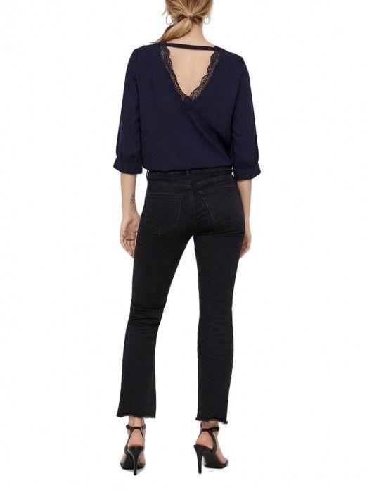 Top Mujer Azul Oscuro Vero moda 10211825