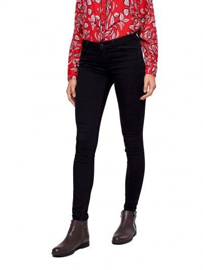 Trousers Women Black Vero moda 10203140