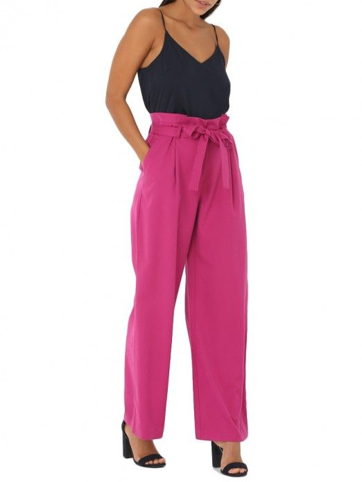 Trousers Women Fuschia Pink Vero moda 10210053
