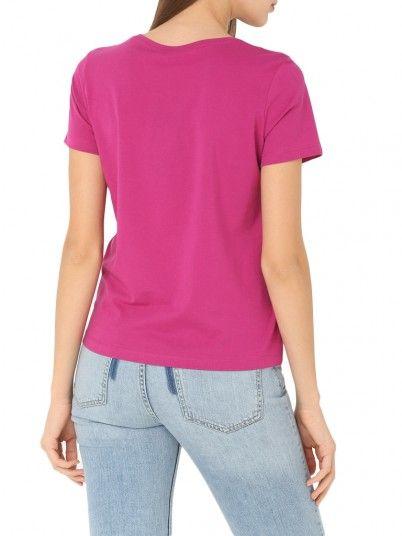 T-Shirt Woman Rosa Fuchsia Vero Moda