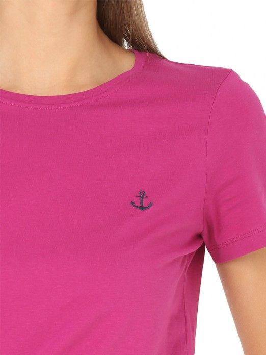 T-Shirt Mujer Rosa Fucsia Vero moda 10210574