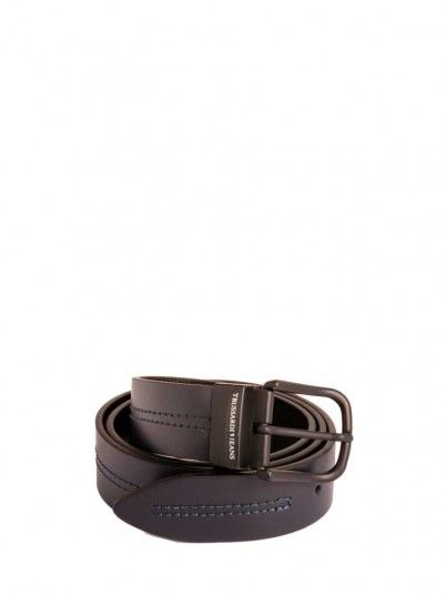 Belt Men Black Trussardi 71l00080
