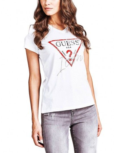 T-SHIRT MLHER ICON GUESS