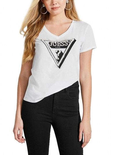 T-SHIRT MULHER PEARL GUESS