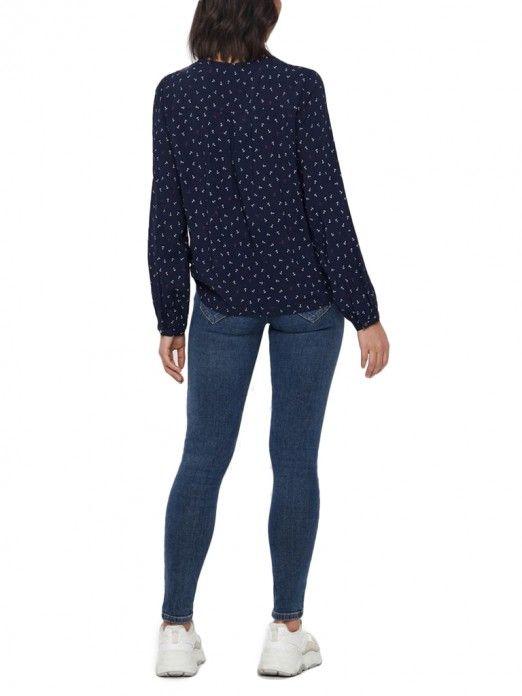 Shirt Woman Navy Blue Vero Moda