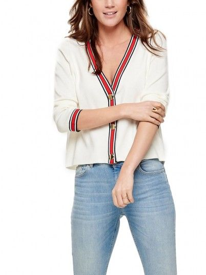 Chaqueta Mujer Crema Only 15170608