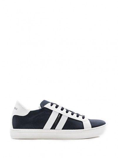 Sneaker Men Dark Blue Antony Morato MMFW01116