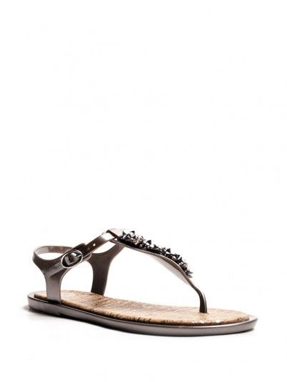 Sandalias Mujer Plata Gioseppo