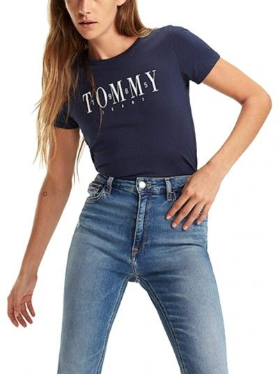 T-SHIRT MULHER CASUAL TOMMY JEANS