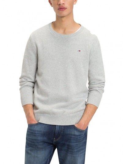 Knitwear Man Grey Tommy Jeans