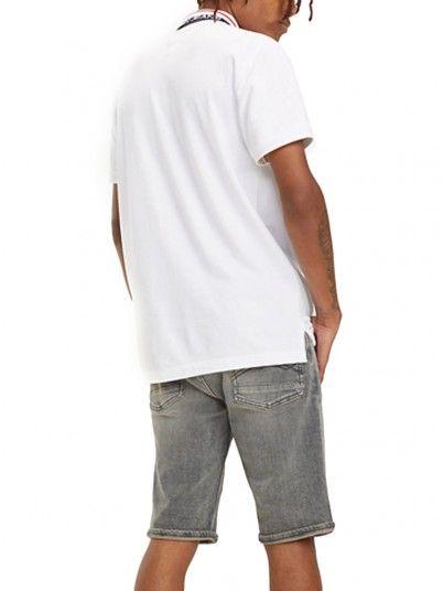Polo Hombre Blanco Tommy DM0DM05509