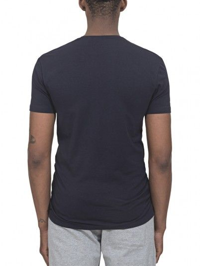 T-Shirt Men Dark Blue Antony Morato MMKS01393FA120001