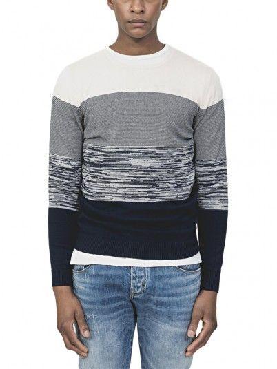 Knitwear Man Navy Blue Antony Morato