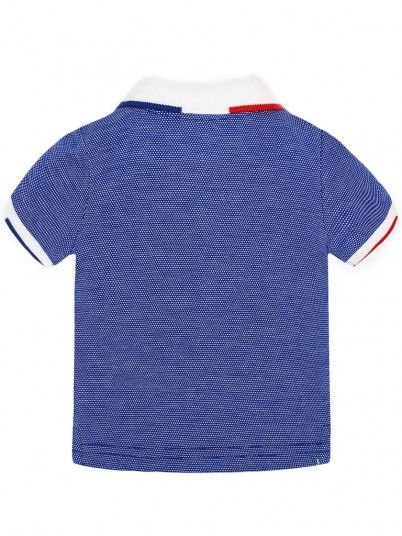 Polo Shirt Baby Boy Blue Mayoral 1104