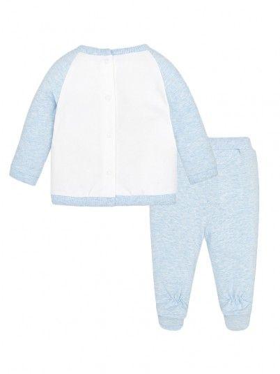 Conjunto calças nuvem bebé recém nascido Mayoral