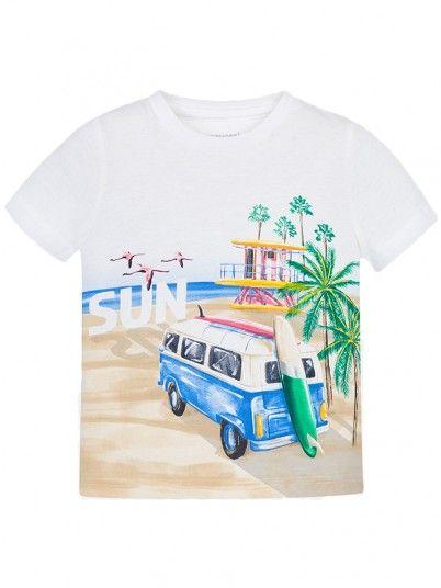T-shirt SUN menino Mayoral