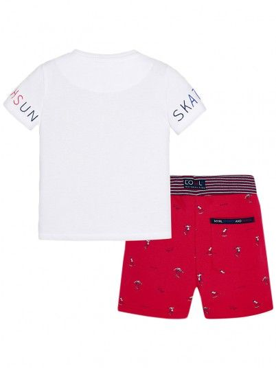 Outfit Boy Red Mayoral 3605