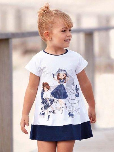 Vestido bonecas menina Mayoral
