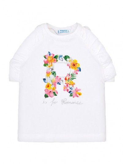 Camisola tiras R flores menina Mayoral