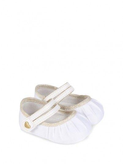 Sapato dupla fita bebé menina recém nascida Mayoral