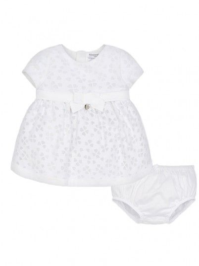 Dress Baby Girl Cream Mayoral