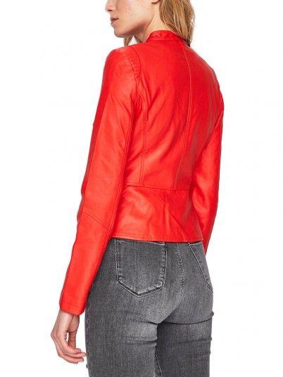 Chaqueta Mujer Rojo Vero moda 10206599