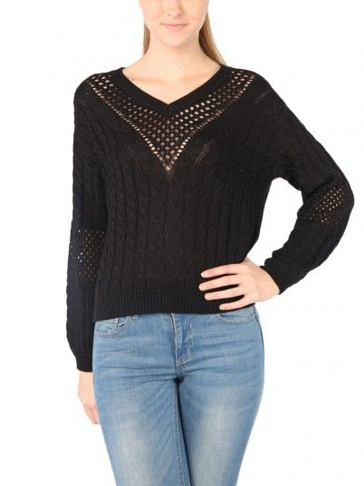 Knitwear Women Black Vero moda 10209918