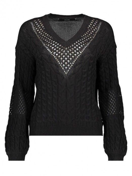 Sweat Mujer Negro Vero moda 10209918