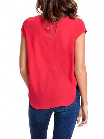 T-Shirt Femme Rouge Only