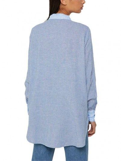 Shirts Women Blue Only 15171799