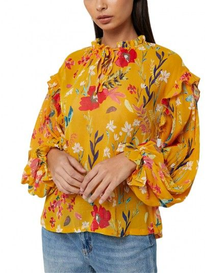 Top Women Mustard Only 15171803
