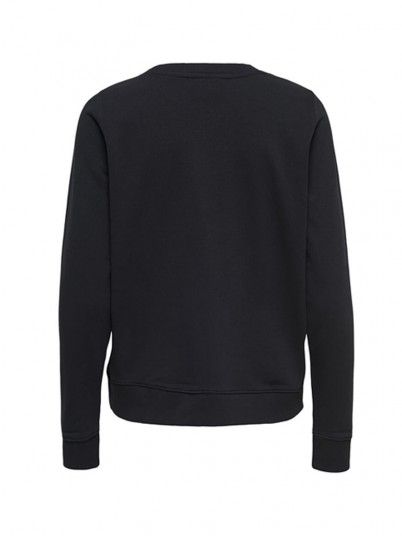 Sweatshirt Women Black Only 15173053