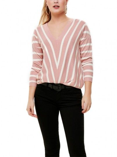 Sweat Mujer Rosa Only 15175007