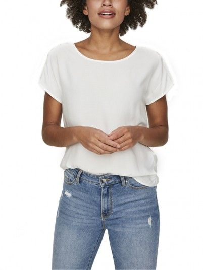 Shirt Woman White Vero Moda