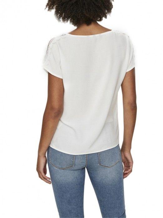 Top Women White Vero moda 10194916