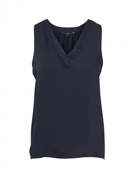 Top Women Navy Blue Vero moda 10212237