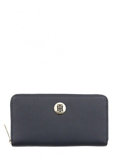 Monedero Mujer Azul Marino Tommy AW0AW06500
