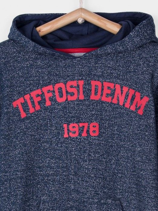 Sweatshirt Boy Navy Blue Tiffosi Kids 10026362
