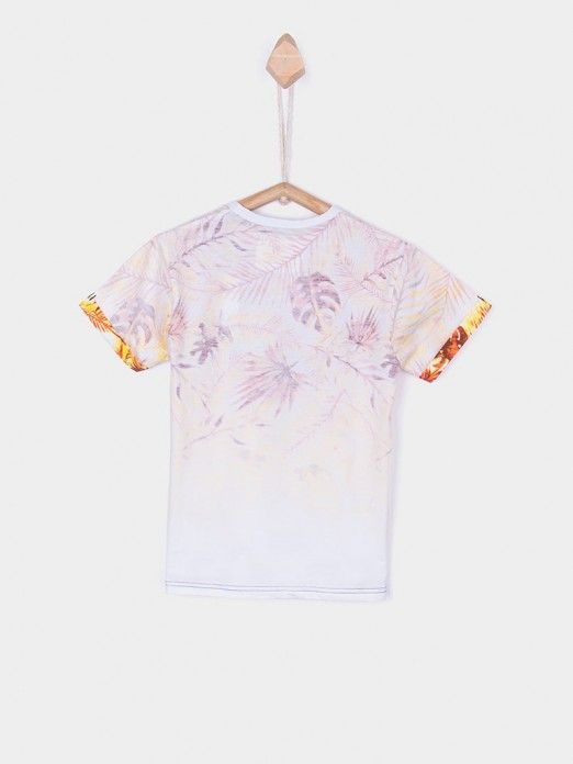 T-Shirt Boy Cream Tiffosi Kids 10026376