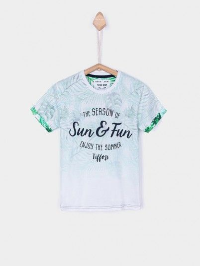 T-Shirt Niño Blanco Tiffosi Kids 10026376