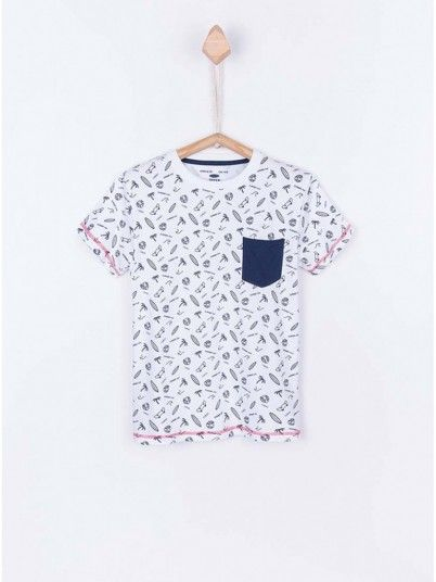 T-Shirt Boy White Tiffosi Kids 10026377